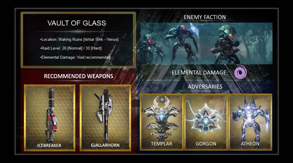 no matchmaking vault of glass How to get a gjallarhorn in destiny as this mode does have automatic matchmaking it generally means you have played the vault of glass often enough to get.
